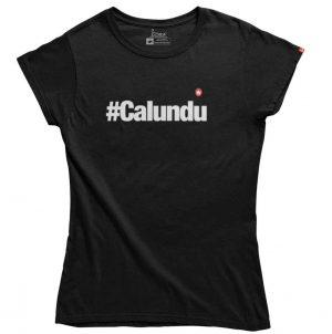 CAMISETA #CALUNDU