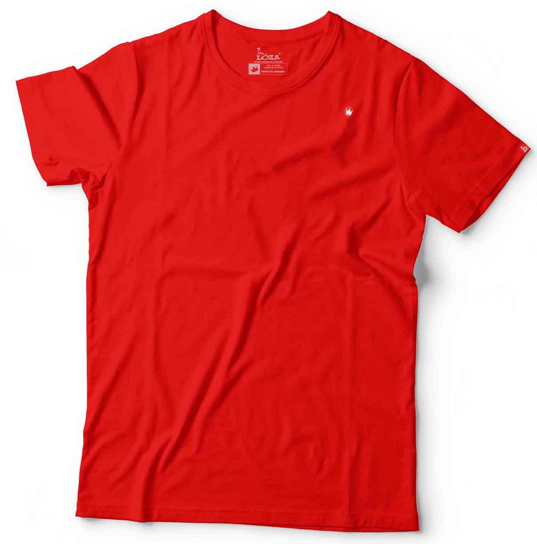 695e521ea Camiseta vermelha básica