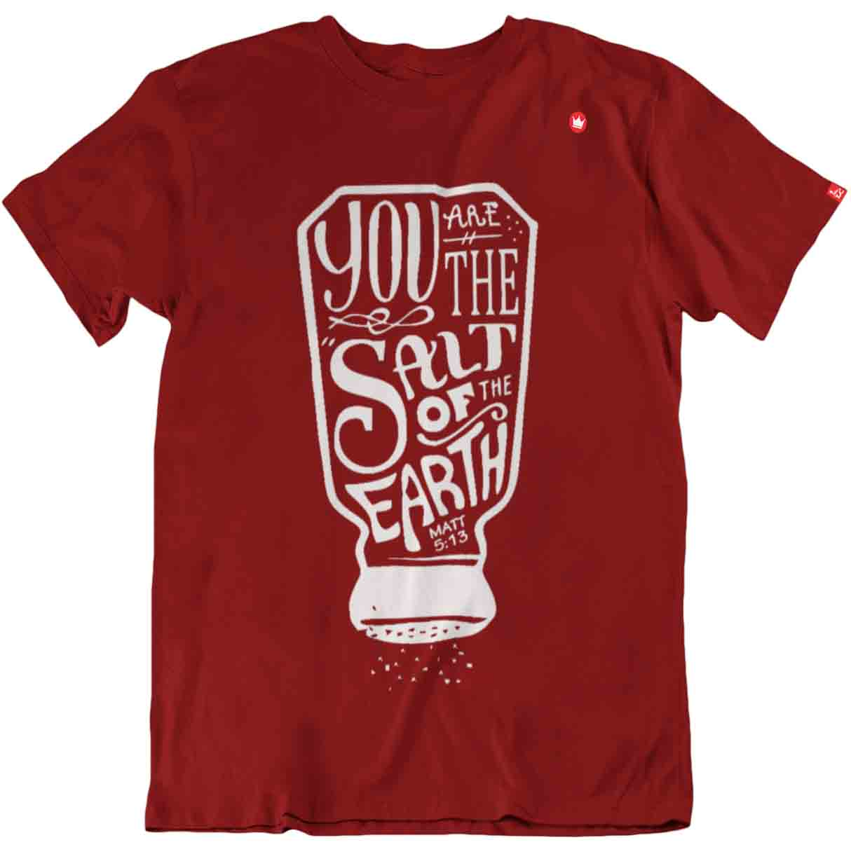 0cfa54dfd Camiseta Sal da terra e luz do mundo